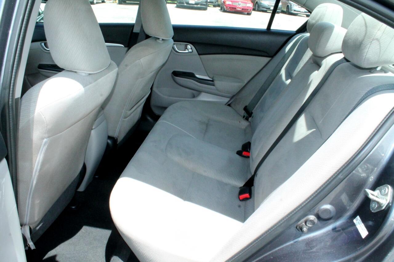 2013 Honda Civic EX Sedan 5-Speed AT