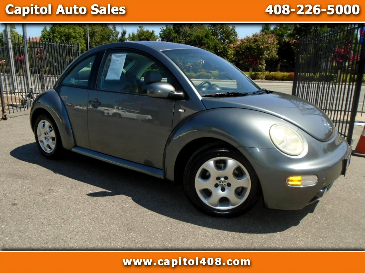 2003 Volkswagen New Beetle Coupe 2dr Cpe GLS Auto