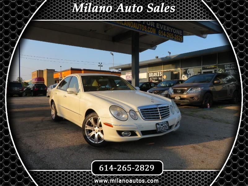 Mercedes-Benz E-Class E350 4MATIC Sedan 2009