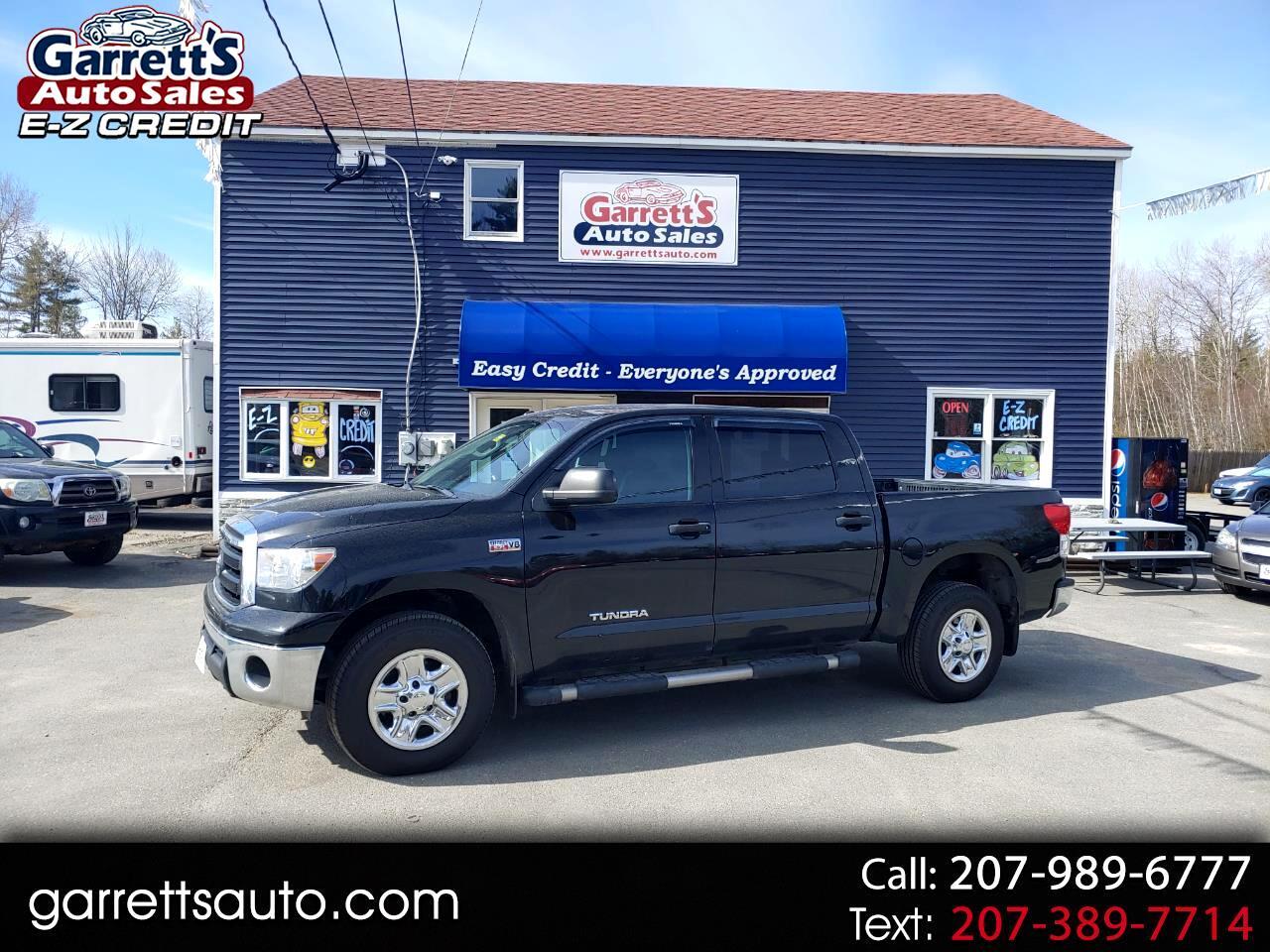 Toyota Tundra 4WD Truck CrewMax 5.7L V8 6-Spd AT (Natl) 2011