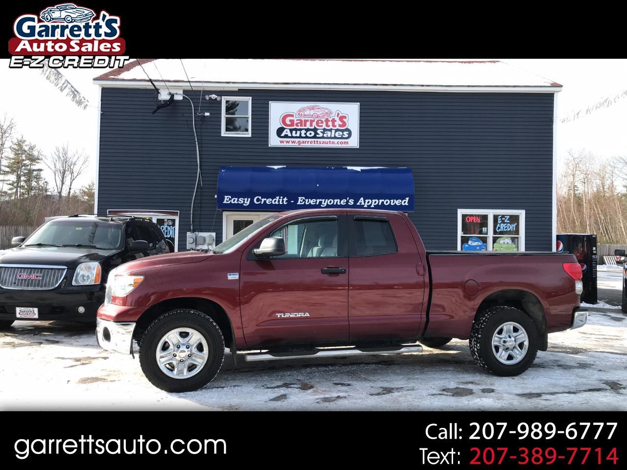 Toyota Tundra 4WD Truck Dbl 4.7L V8 5-Spd AT (Natl) 2008