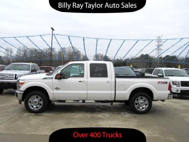 used 2014 ford f 250 sd lariat crew cab 4wd for sale in cullman al 35058 billy ray taylor auto sales. Black Bedroom Furniture Sets. Home Design Ideas