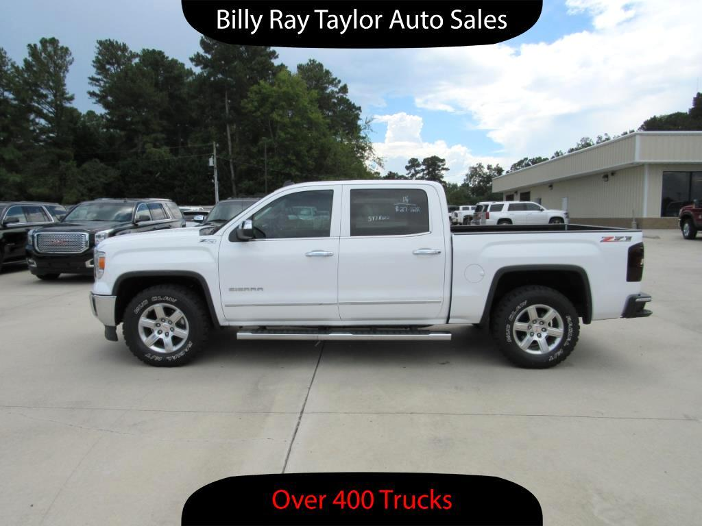 used 2014 gmc sierra 1500 slt crew cab 4wd for sale in cullman al 35058 billy ray taylor auto sales. Black Bedroom Furniture Sets. Home Design Ideas