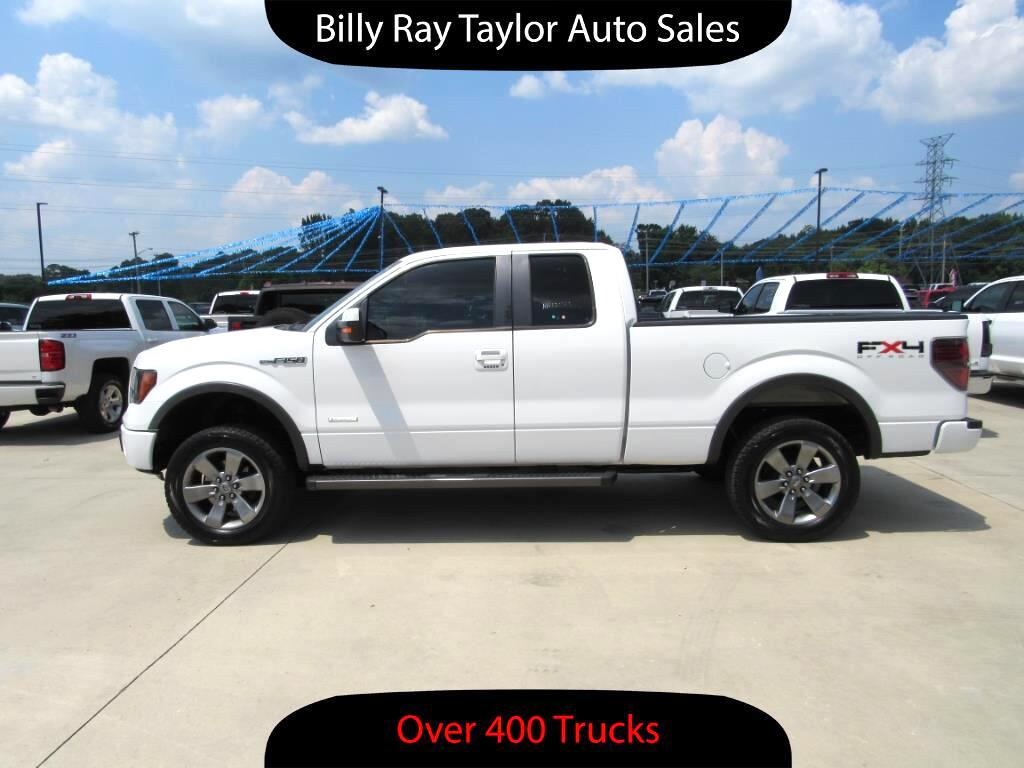 used 2011 ford f 150 fx4 supercab 4wd for sale in cullman al 35058 billy ray taylor auto sales. Black Bedroom Furniture Sets. Home Design Ideas