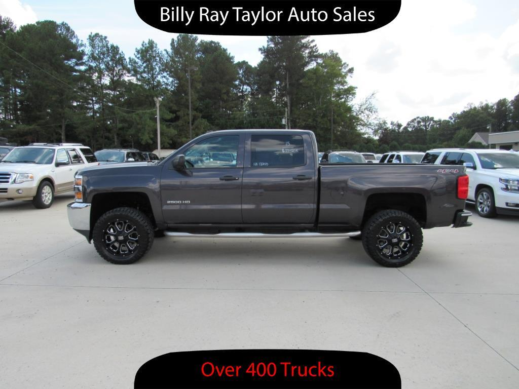 used 2015 chevrolet silverado 2500hd lt crew cab 4wd for sale in cullman al 35058 billy ray. Black Bedroom Furniture Sets. Home Design Ideas