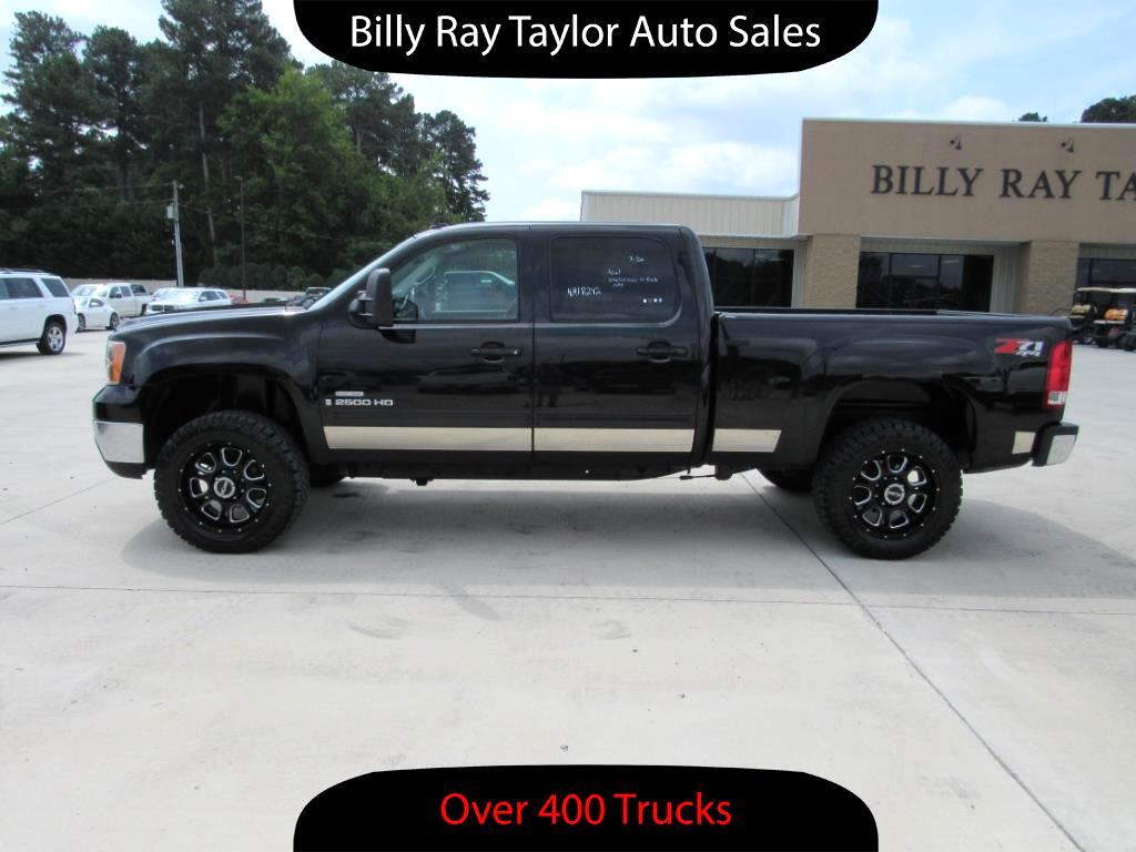 used 2009 gmc sierra 2500hd slt crew cab 4wd for sale in cullman al 35058 billy ray taylor auto. Black Bedroom Furniture Sets. Home Design Ideas