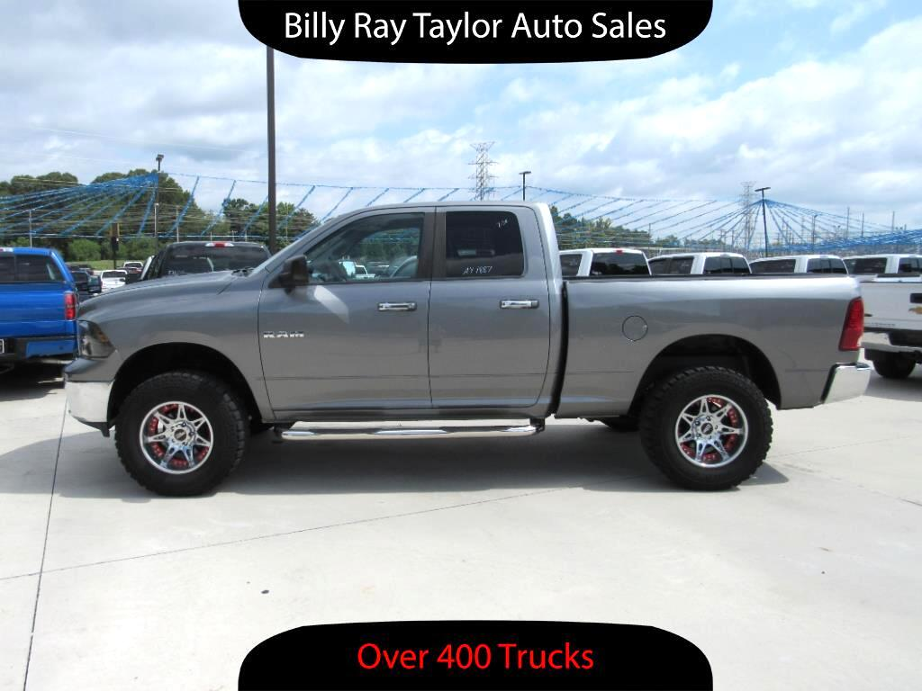 used 2010 dodge ram 1500 slt quad cab 4wd for sale in cullman al 35058 billy ray taylor auto sales. Black Bedroom Furniture Sets. Home Design Ideas