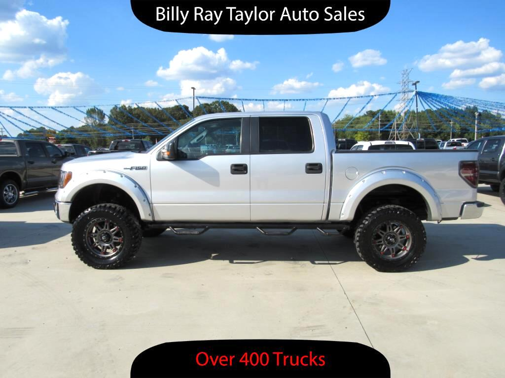 used 2011 ford f 150 xlt supercrew 4wd for sale in cullman al 35058 billy ray taylor auto sales. Black Bedroom Furniture Sets. Home Design Ideas