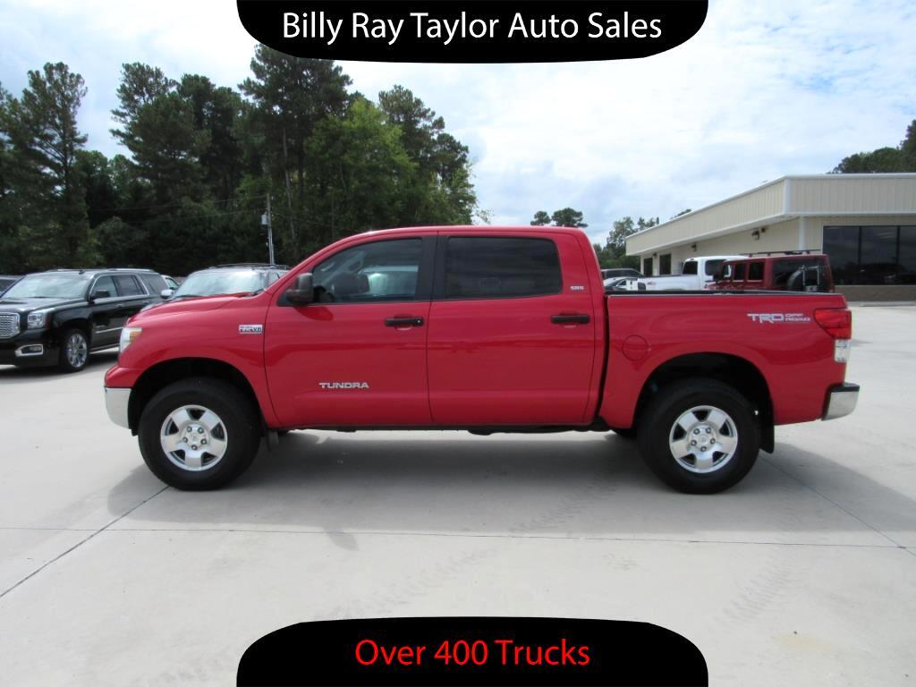 used 2011 toyota tundra sr5 crewmax 4wd for sale in cullman al 35058 billy ray taylor auto sales. Black Bedroom Furniture Sets. Home Design Ideas