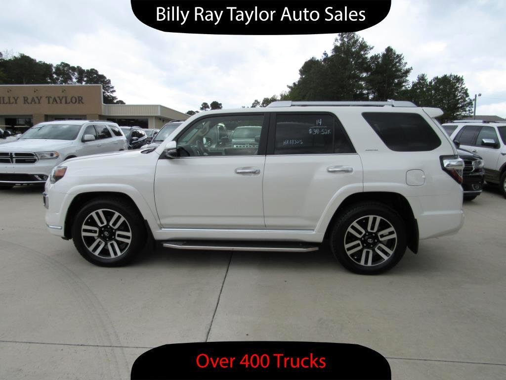 used 2014 toyota 4runner limited for sale in cullman al 35058 billy ray taylor auto sales. Black Bedroom Furniture Sets. Home Design Ideas