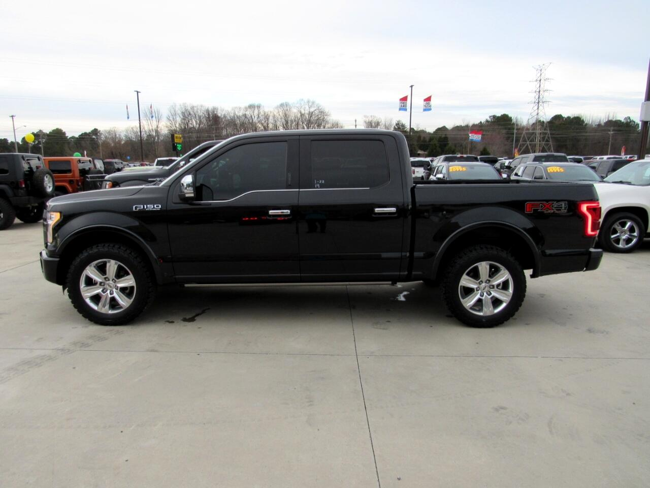 2015 Ford F-150 Platinum SuperCrew 4WD