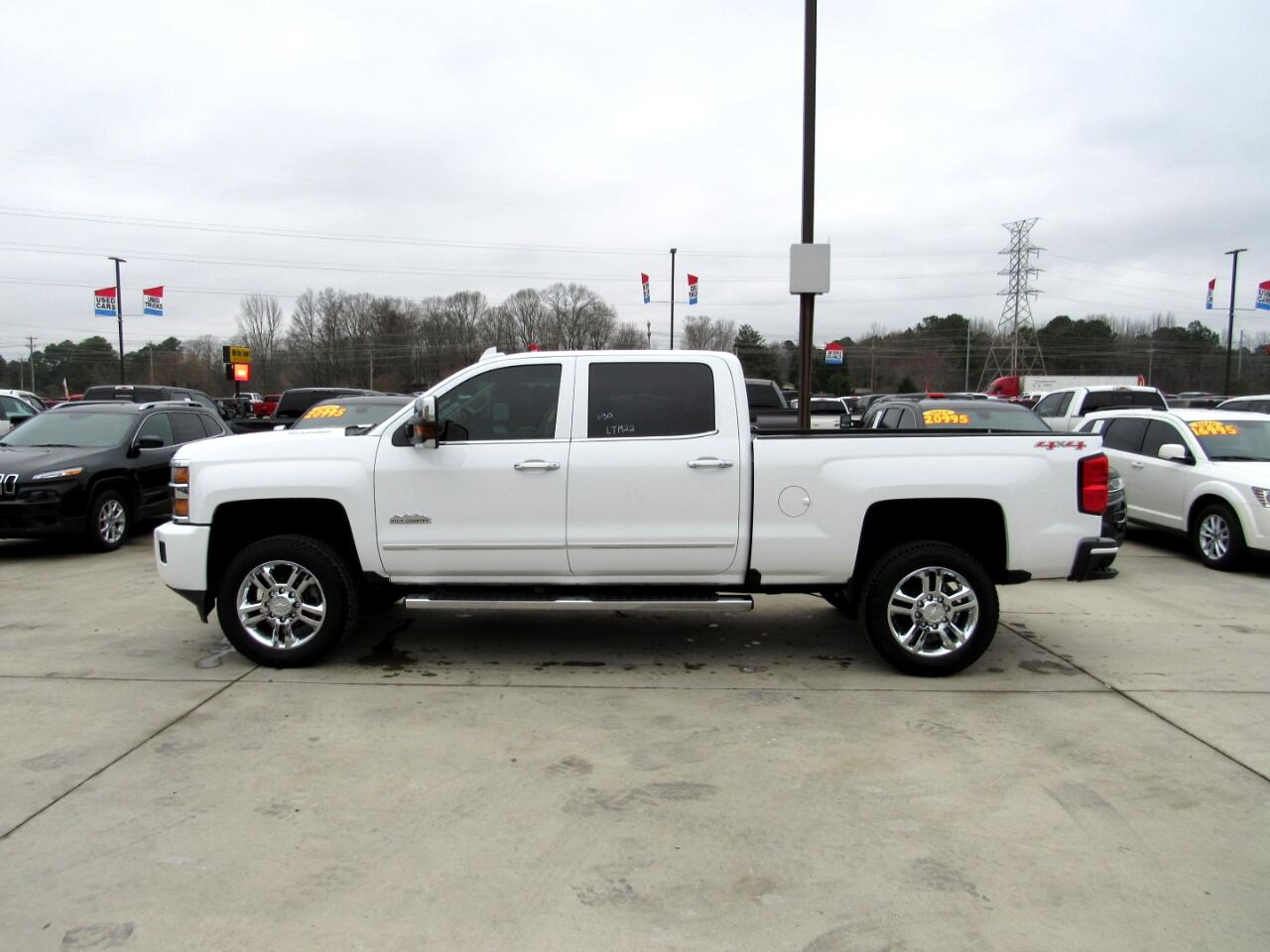 2016 Chevrolet Silverado 2500HD High Country Crew Cab 4WD