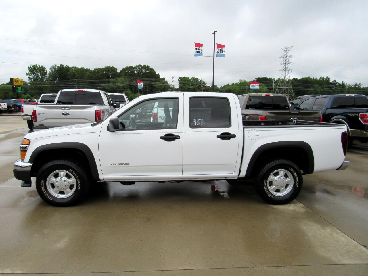 2005 Chevrolet Colorado Work Truck Crew Cab 4WD