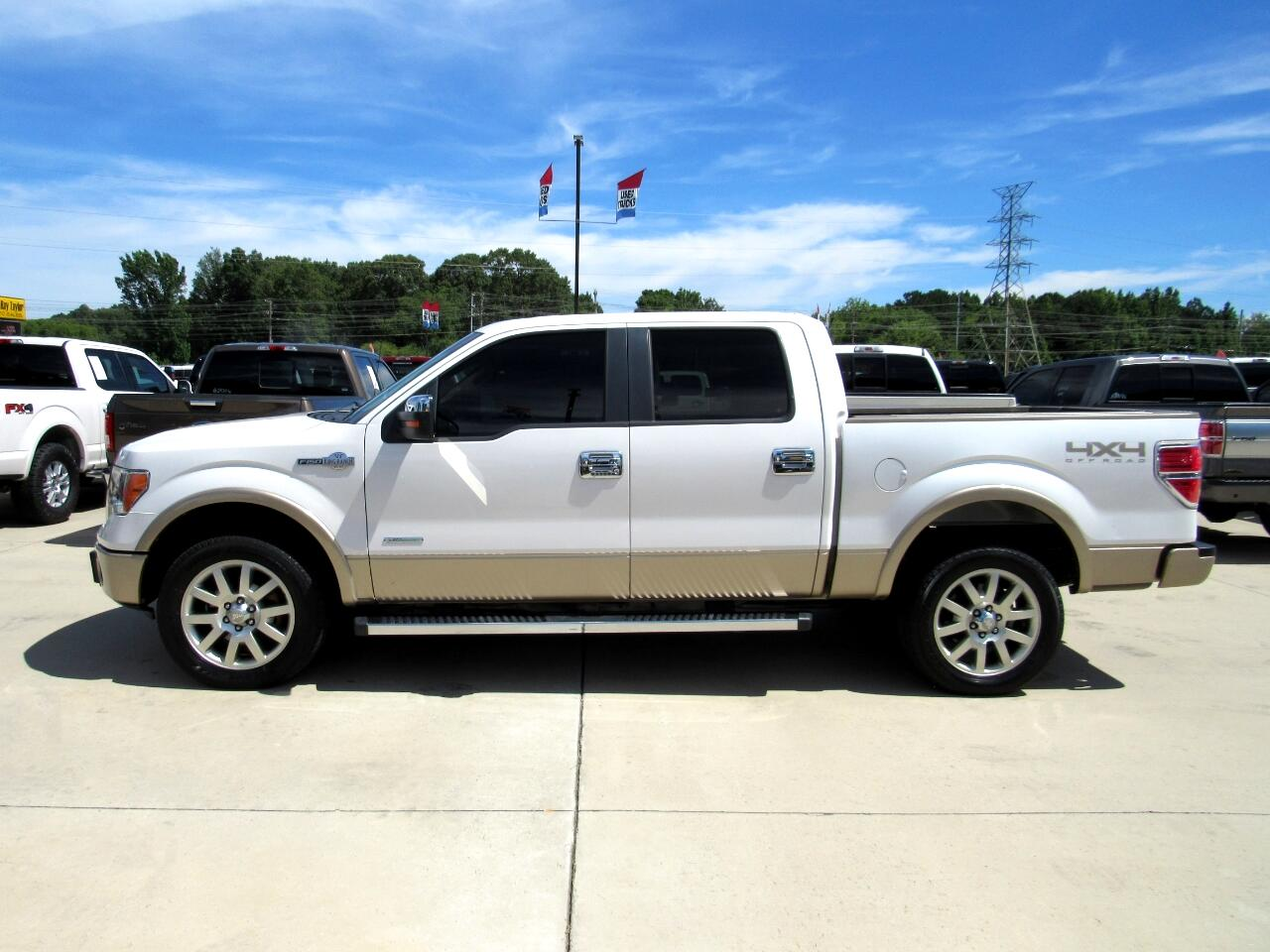 Ford F-150 King Ranch SuperCrew 4WD 2012
