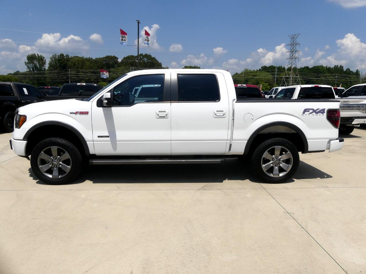 Ford F-150 FX4 SuperCrew 2012