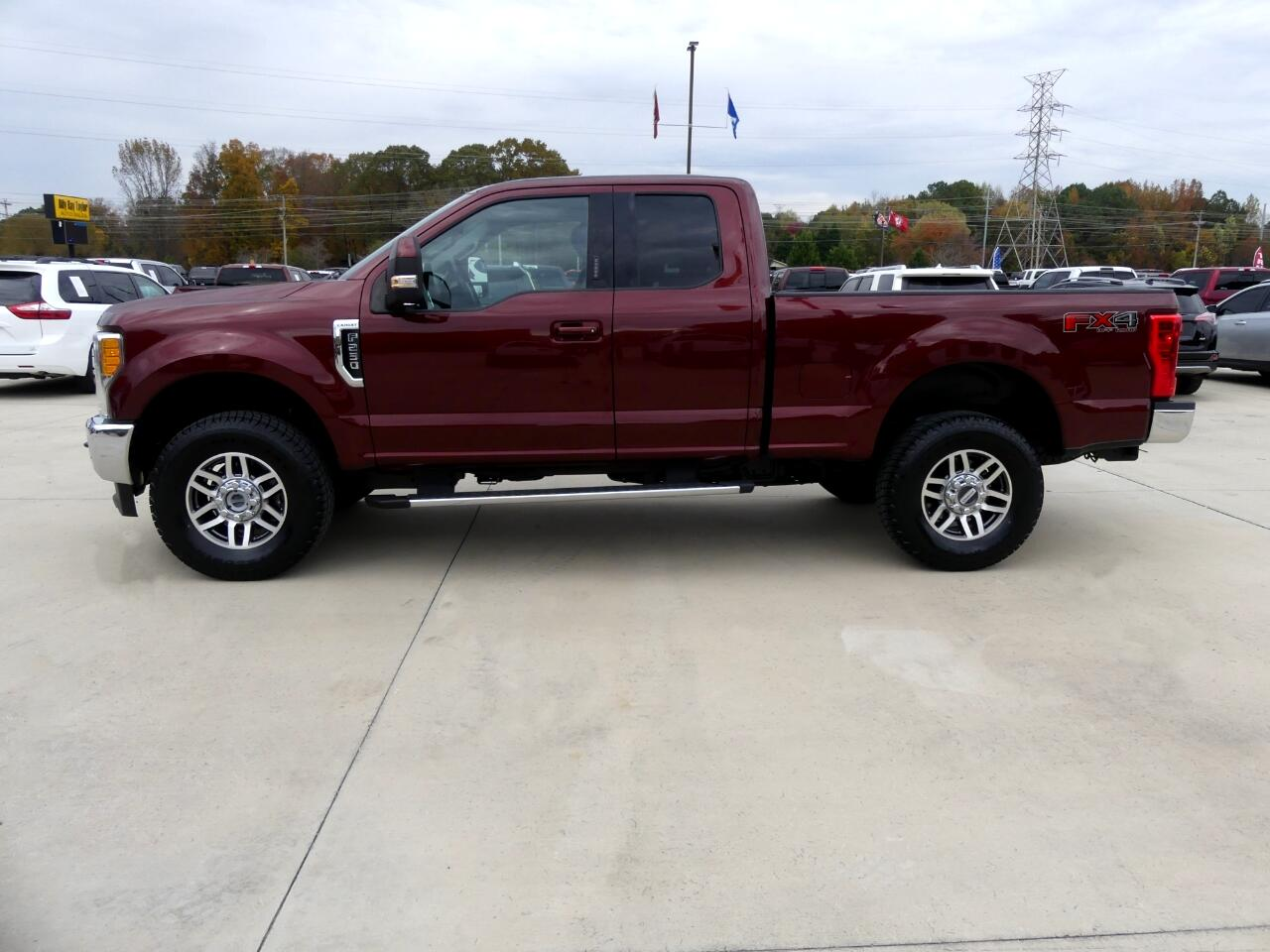 Ford F-250 SD Lariat SuperCab 4WD 2017