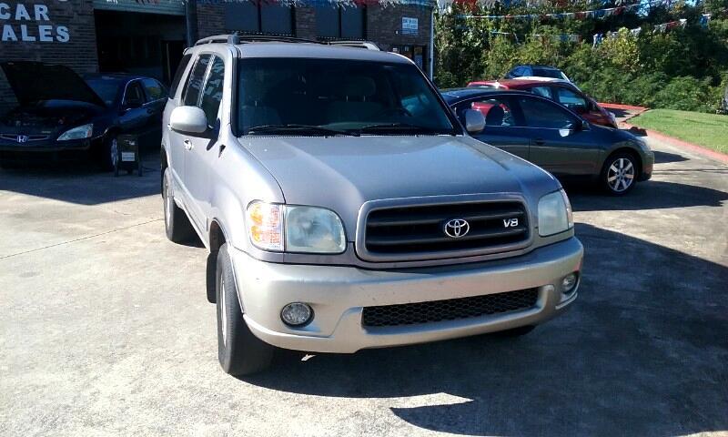 2002 Toyota Sequoia SR5 2WD