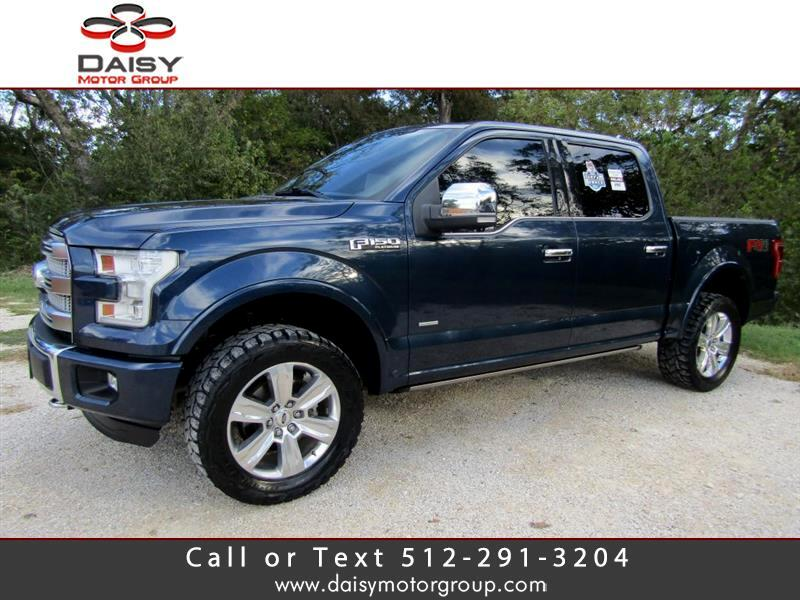 2015 Ford F-150 Platinum SuperCrew 5.5-ft. Bed 4WD