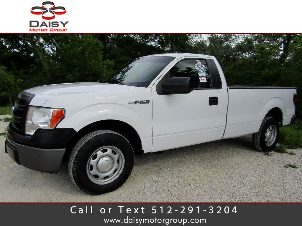 2014 Ford F-150 Reg. Cab Long Bed 2WD