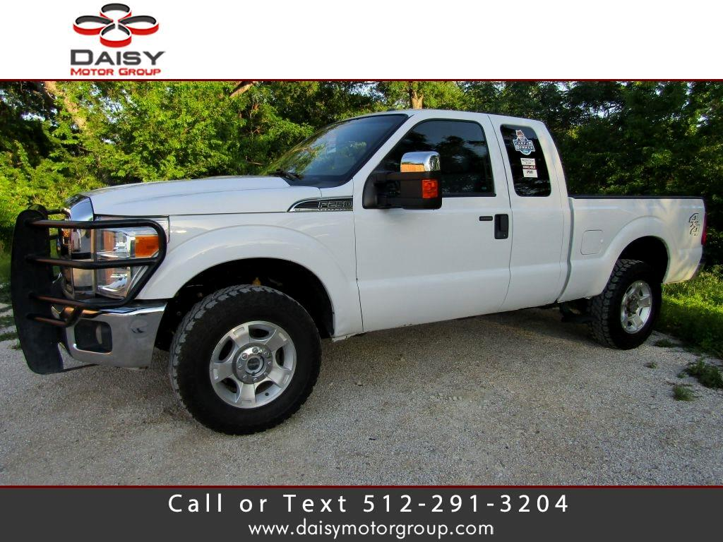 "2015 Ford F250 4WD SuperCab 158"" XLT"