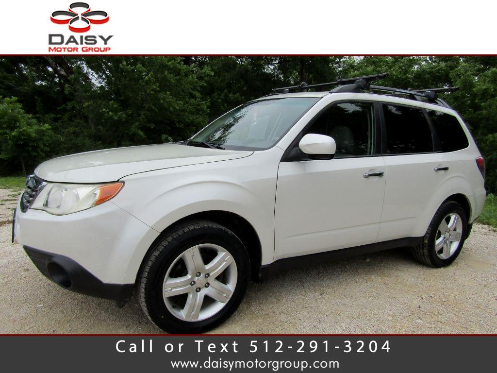 2009 Subaru Forester (Natl) 4dr Man X w/Prem/All-Weather