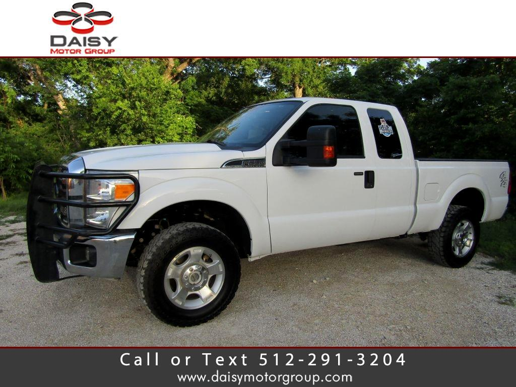 2016 Ford F250 4WD SuperCab 158