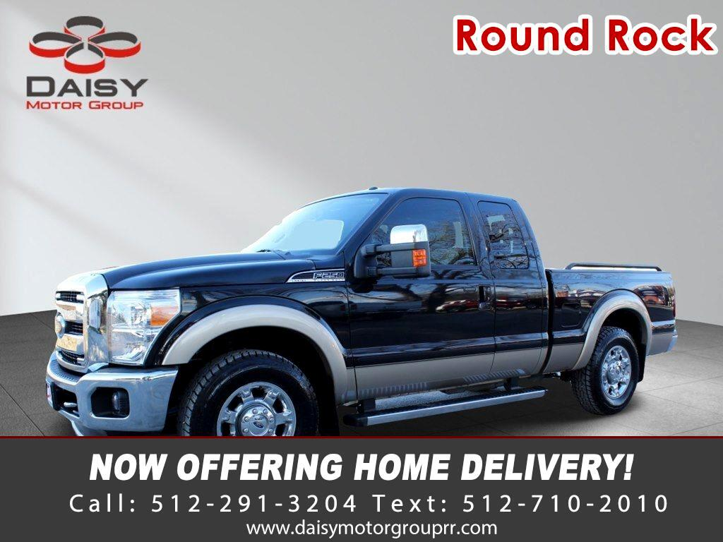 Ford F-250 Lariat SuperCab 2WD 2012