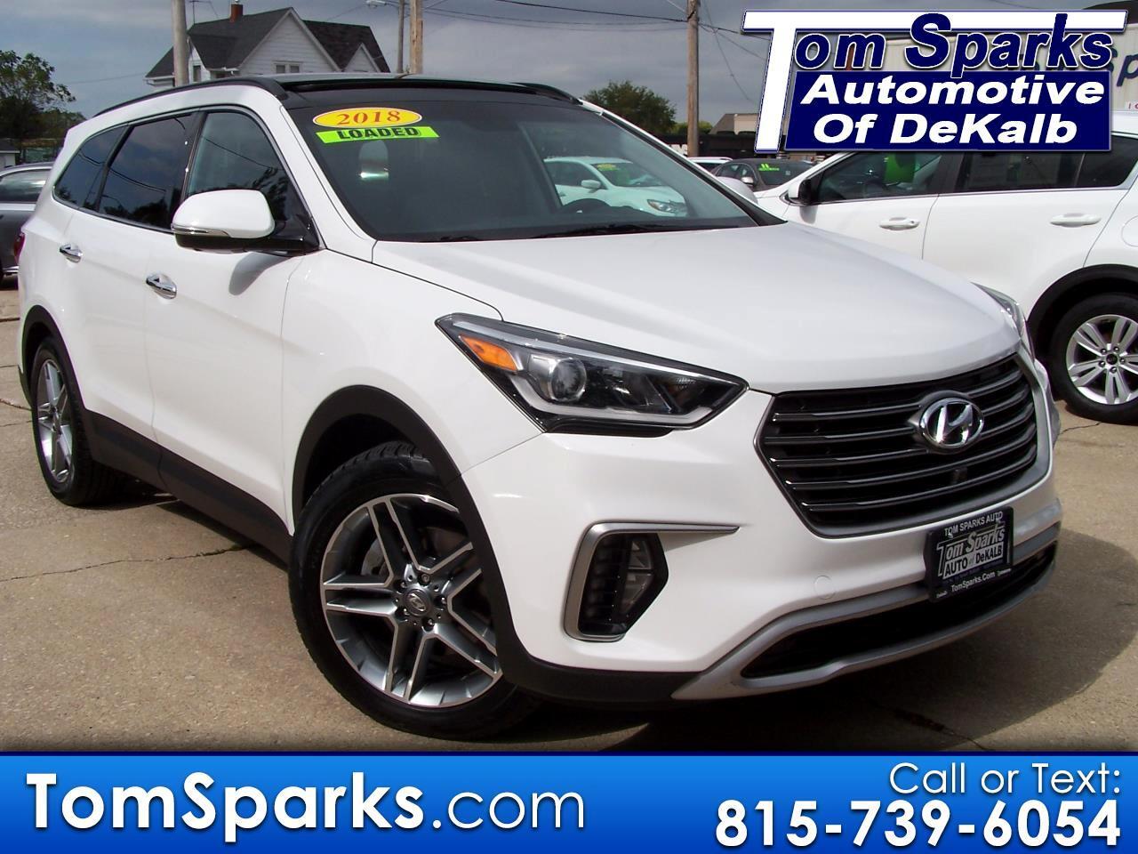 2018 Hyundai Santa Fe Ultimate AWD