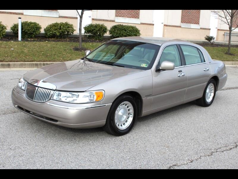 Used 2002 Lincoln Town Car Executive For Sale Cargurus