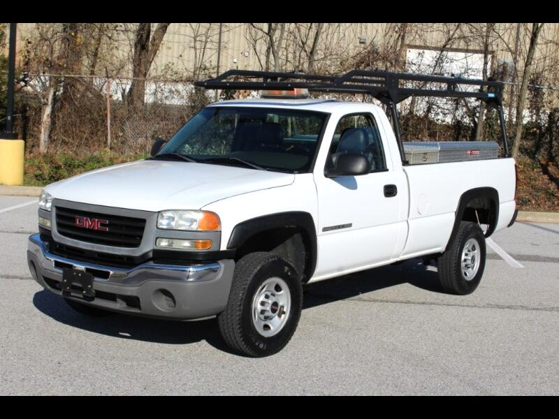 GMC Sierra 2500HD Work Truck Long Bed 2WD 2006