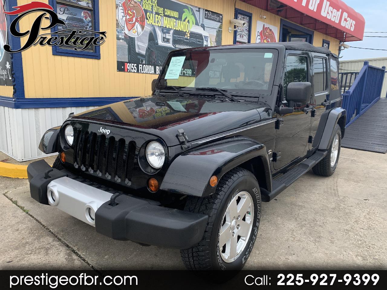 2010 Jeep Wrangler Unlimited Sahara 2WD