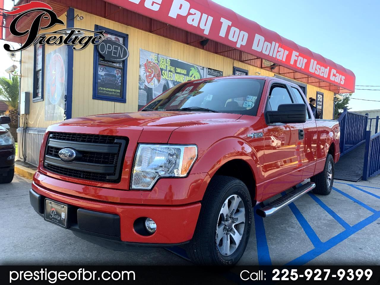 """Ford F-150 2WD SuperCab 145"""" Lariat 2013"""