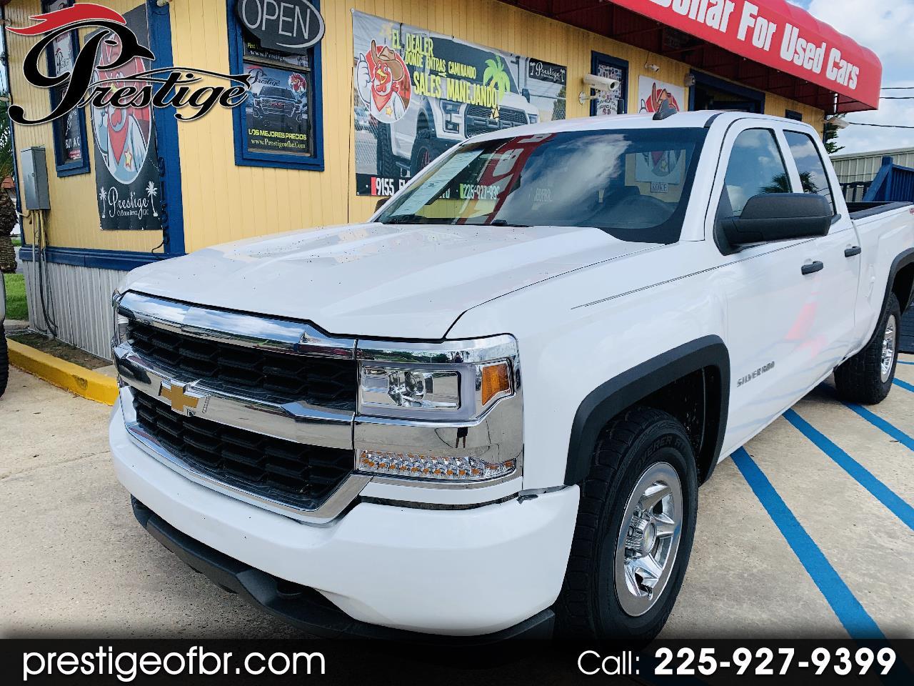 "Chevrolet Silverado 1500 4WD Double Cab 143.5"" Work Truck 2017"