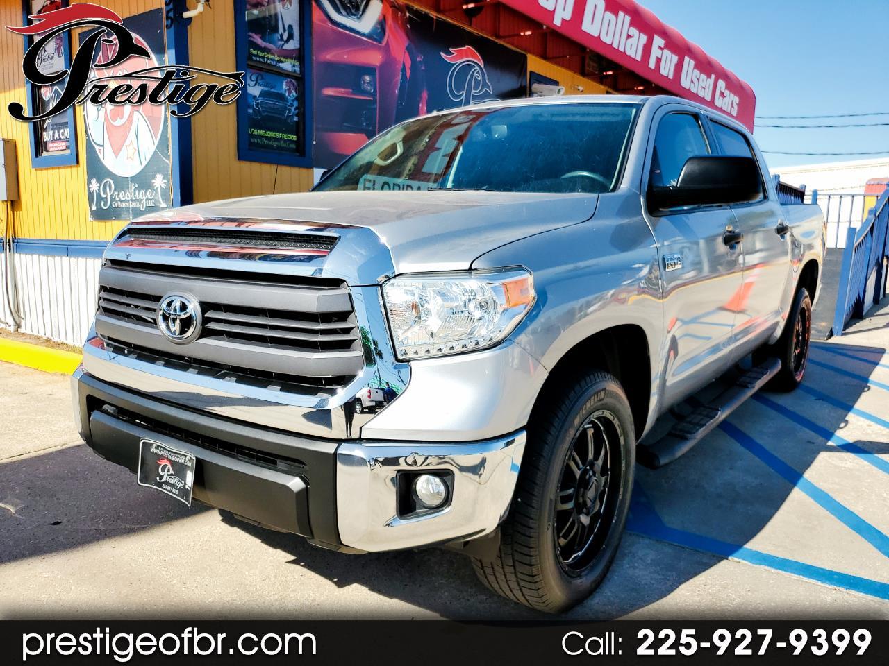 Toyota Tundra 4WD Truck CrewMax 5.7L FFV V8 6-Spd AT TRD Pro (Natl) 2015