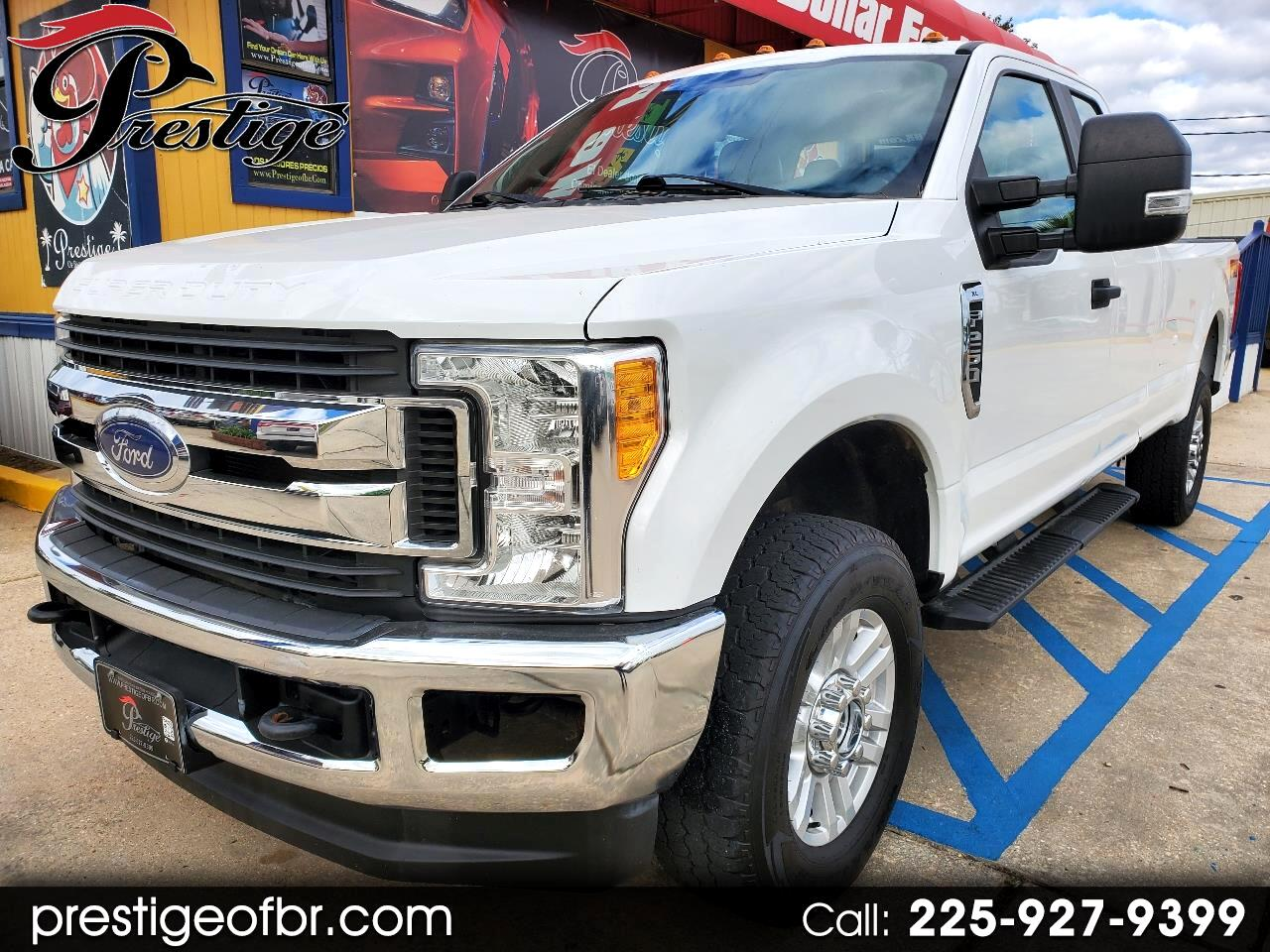Ford Super Duty F-250 SRW Lariat 4WD SuperCab 8' Box 2017