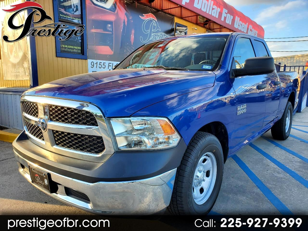 "RAM 1500 Tradesman 4x2 Quad Cab 6'4"" Box 2017"