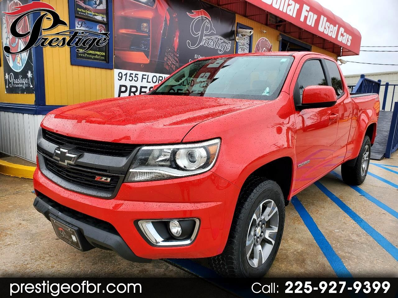 "Chevrolet Colorado 4WD Ext Cab 128.3"" Z71 2015"