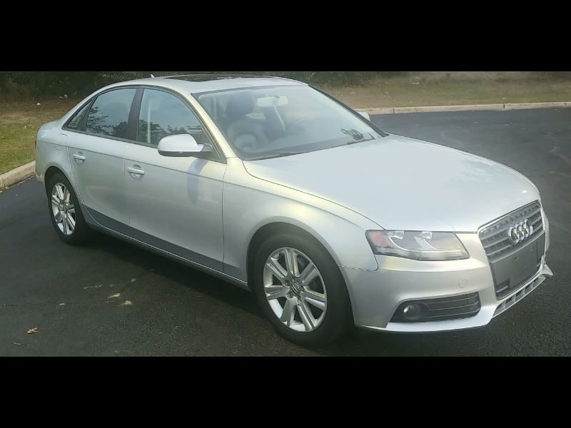Audi A4 2.0 T Sedan FrontTrak Multitronic 2011