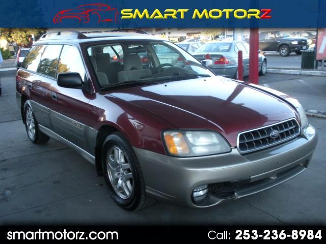 2003 Subaru Outback Wagon w/ Premium Audio System
