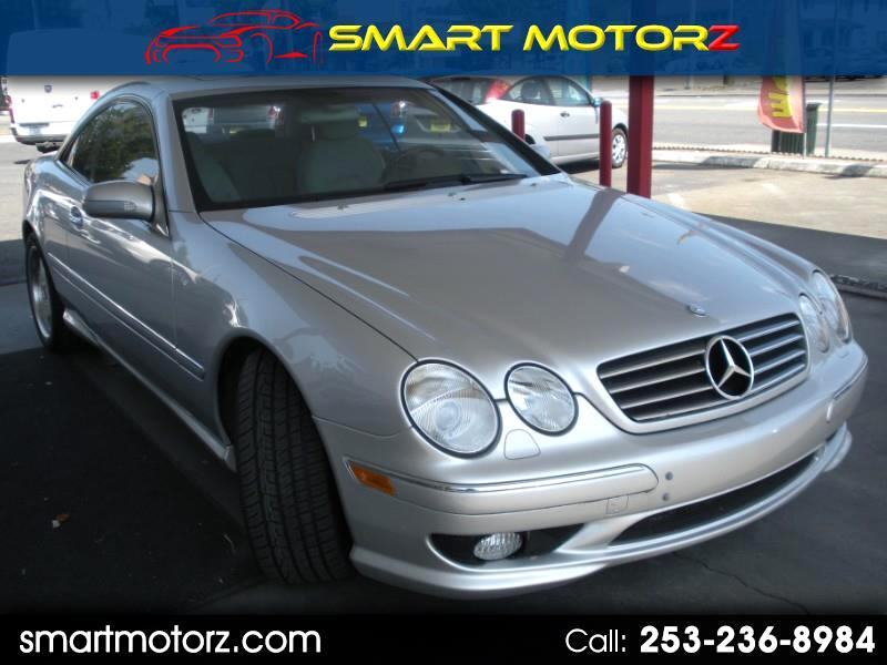 2002 Mercedes-Benz CL-Class CL55 AMG