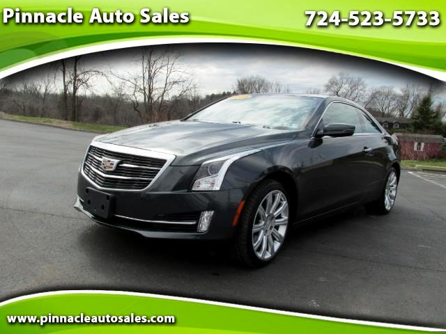 2015 Cadillac ATS Coupe 2.0L Turbo Luxury AWD