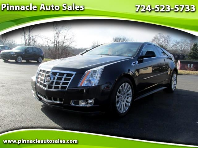2013 Cadillac CTS Performance Coupe AWD w/ Navigation