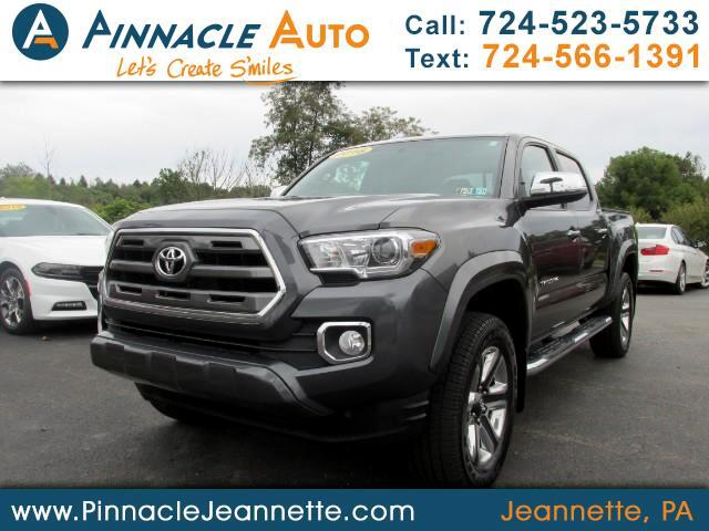 2016 Toyota Tacoma Limited Double Cab V6 6AT 4WD