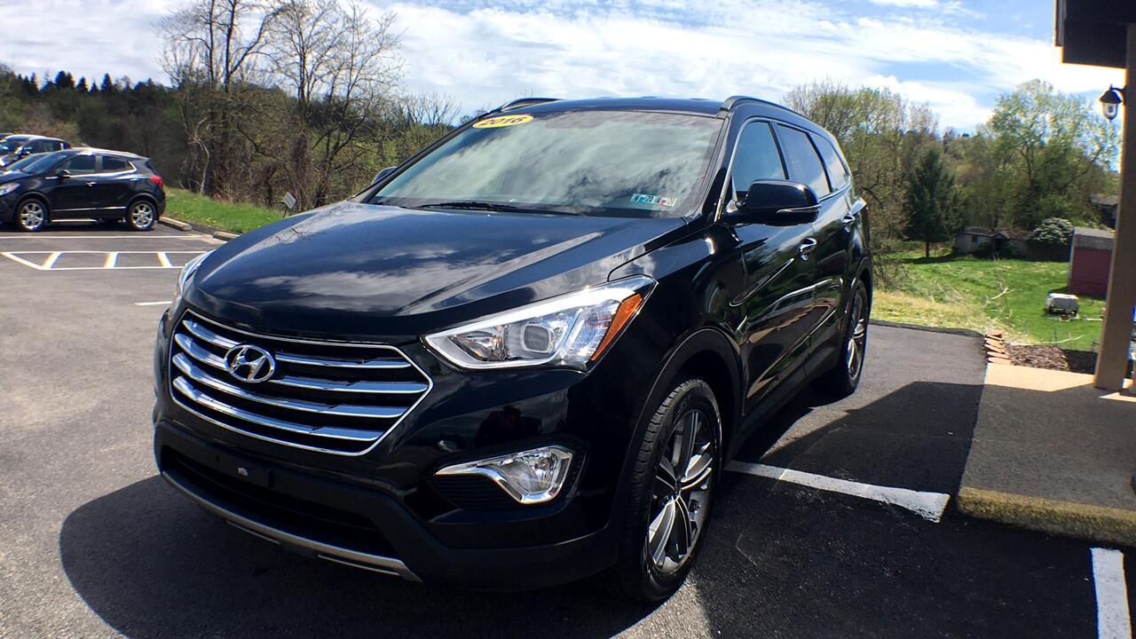 Hyundai Santa Fe Limited AWD 2016