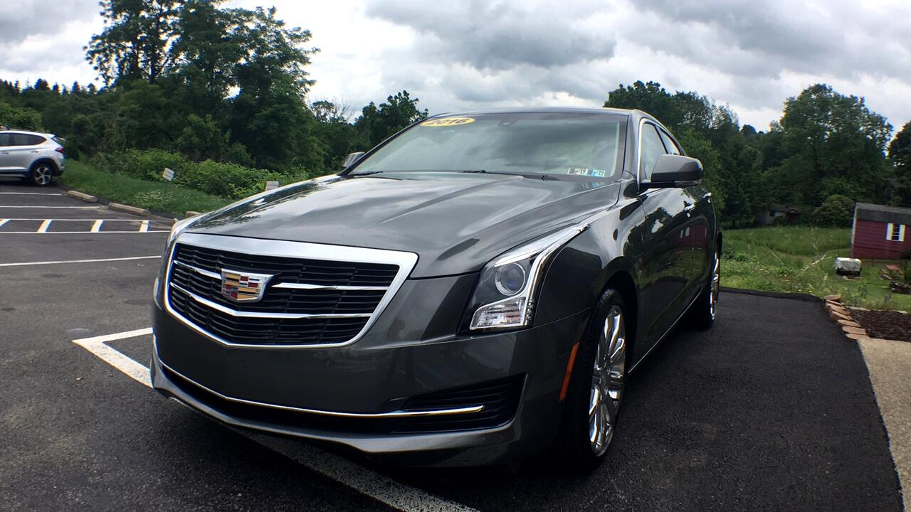 Cadillac ATS 2.0L Luxury AWD 2016