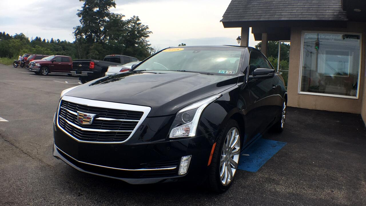 Cadillac ATS Coupe 2.0L Luxury AWD 2018