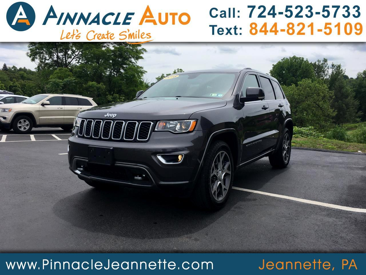 Jeep Grand Cherokee Sterling Edition 4x4 *Ltd Avail* 2018