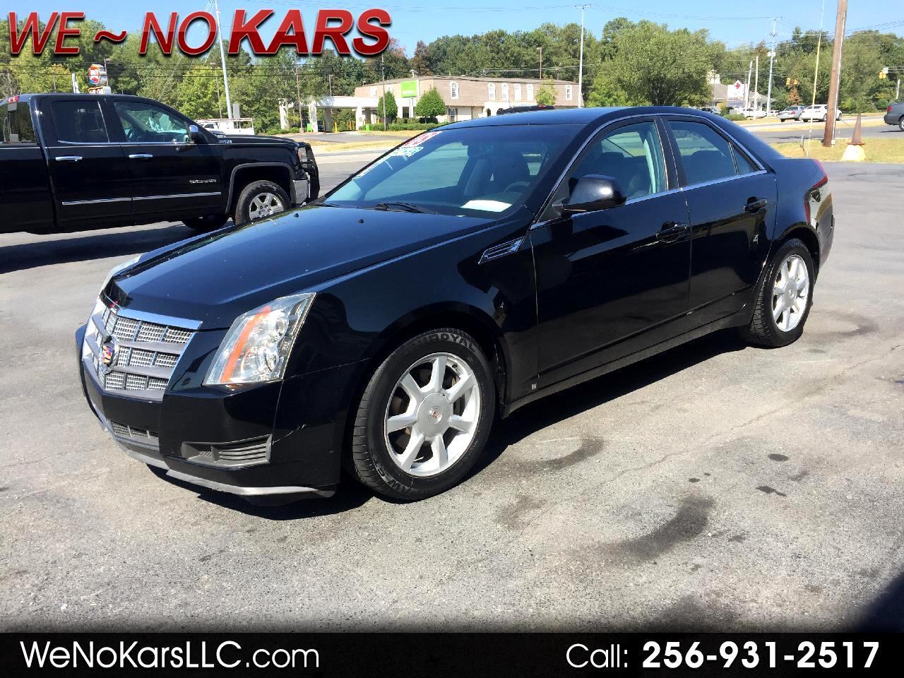 2008 Cadillac CTS 4dr Sdn w/1SA