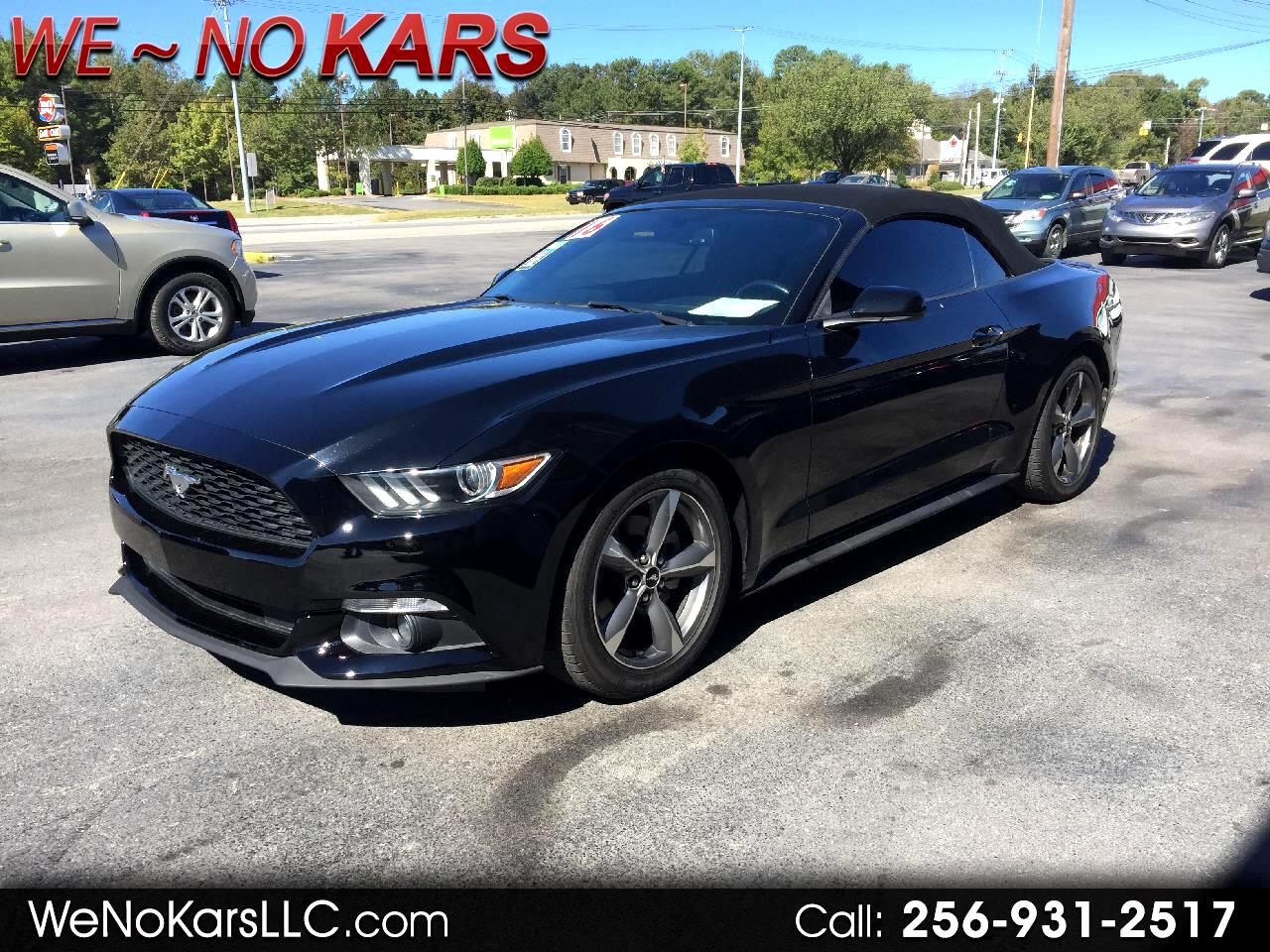 2016 Ford Mustang 2dr Convertible