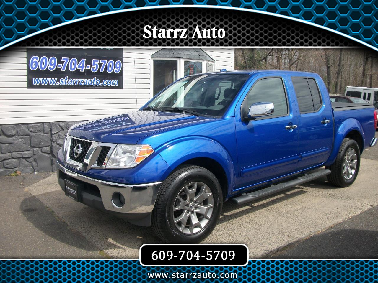 Nissan Frontier S Crew Cab 5AT 2WD 2014